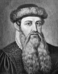 Foto de Gutenberg quien es- La historia de la imprenta