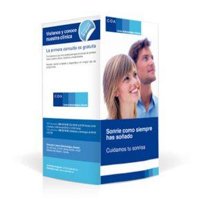 dipticos baratos online - mejores colores para folletos