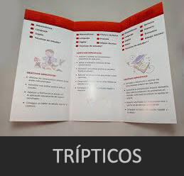 folleto triptico