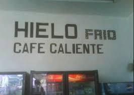 CARTELES DIVERTIDOS - CAFE CALIENTE