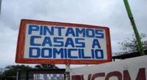 COMIDA CASERA - CARTELES GRACIOSOS