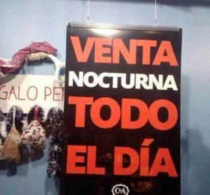 CARTELES DIVERTIDOS - VENTA NOCTURNA