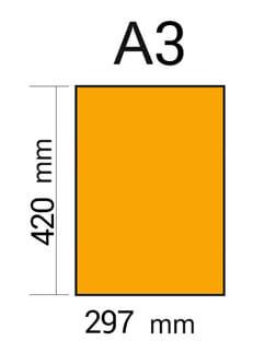 dimensiones formato DIN A3
